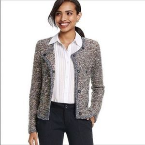 Cabi Ritz Double Breasted Knit Blazer